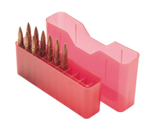 MTM J-20 Slip Top, M Series, 20-Round Ammo Case, Red