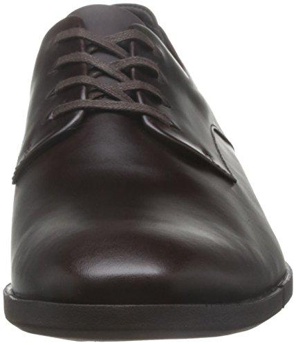 Clarks Marrone Daulton 128 Scarpe Dark 26 Walk 003 rfqrw04