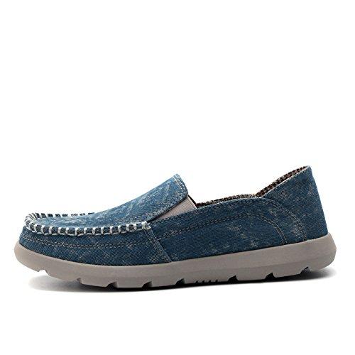 Jeans leinwand schuhe, leinwand, schuhe, lässige schuhe mit großen leinwand schuhe,B,46
