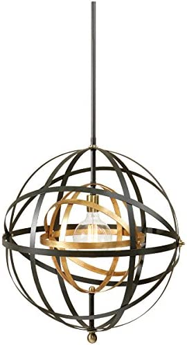 Uttermost 22038 Rondure 1 Light Sphere Pendant