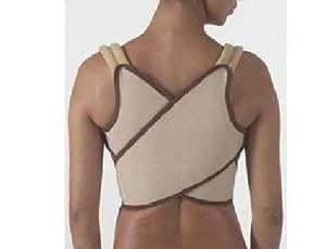 "Shoulder Brace / Support (Posture Correcting) Medium ( Chest sizes : 35""- 40"") by SMSBM"