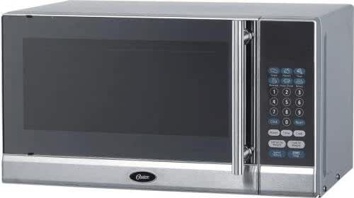 700 Watts Countertop Microwave Oven in Stainless Steel by Oster