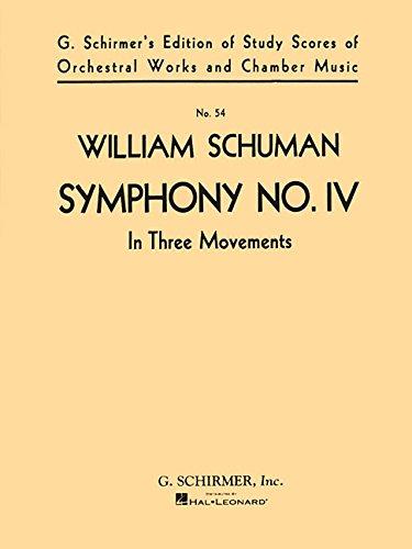 Symphony No. 4 (in Three Movements): Study Score No. 54 PDF