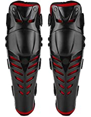 Motorcycle Knee Protective Gear, Racing Motocross Knee Pads Guards Protector Pads 1Pair for Motocross Bike Bicycle