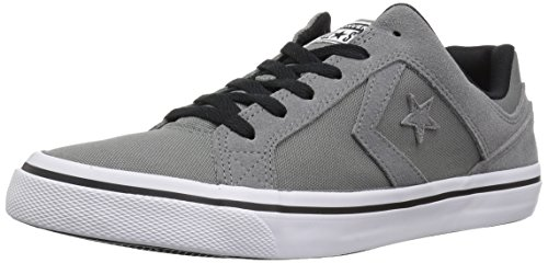 Converse Men's El Distrito Canvas Low Top Sneaker, mason/white/black, 7 M US -