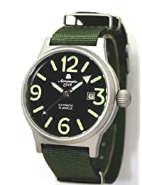 Aeromatic 1912 WW-2 Styled Automatic Military Watch A1337