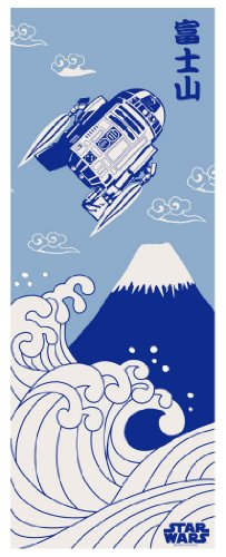 STAR WARS Towel of Japanese Design Mt. Fuji (Wars Star Japan)