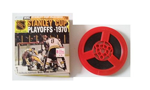 NHL Official FIlms Stanley Cup Playoffs 1970 8mm Home Movie B/W by Columbia Pictures Home Movie