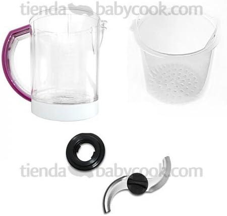 Jarra Babycook Duo y Solo Gipsy + cestilla + cuchilla y rosca: Amazon.es: Bebé