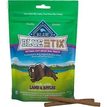 Blue Buffalo Blue Stix Lamb & Apples Dog Treats, 6 oz(2Pack)
