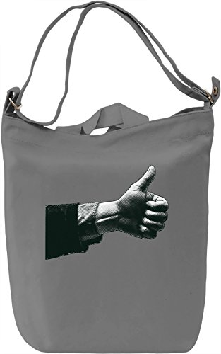 Like Borsa Giornaliera Canvas Canvas Day Bag| 100% Premium Cotton Canvas| DTG Printing|