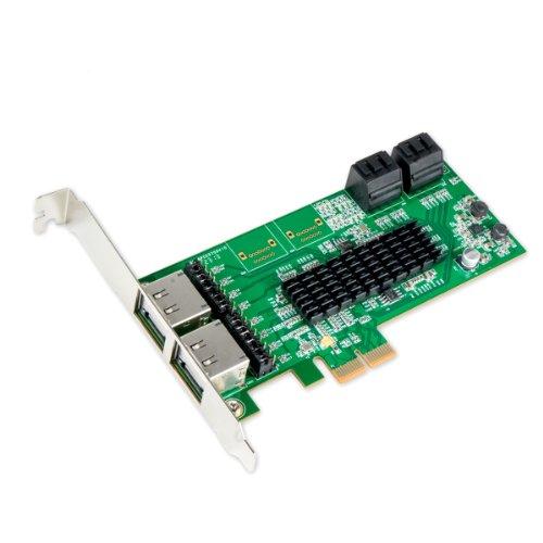 IO Crest SI-PEX40072 4 Port SATA III or 4 Port eSATA III ...