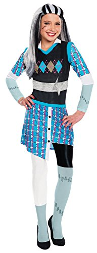 Rubie's Costume Monster High Frankie Stein Child Costume, Large (Monster High Halloween Costumes)