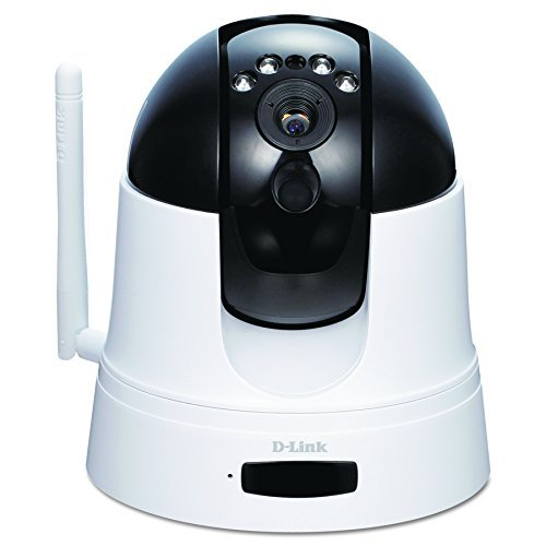 D-Link Wireless Pan and Tilt Day/Night Network Surveillance Camera with mydlink-Enabled