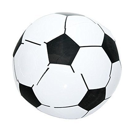 Inflatable Soccer Ball - Fun Central 12 Packs - Inflatable