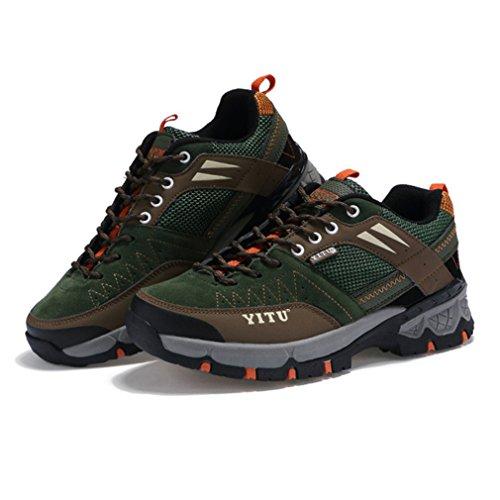 Verde botas bajo Unisex de caño XIGUAFR adulto fYqxwSYd