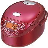 東芝 IHジャー炊飯器 (3.5合炊き) 備長炭鍛造かまど釜 グランレッド RC-6XL-R