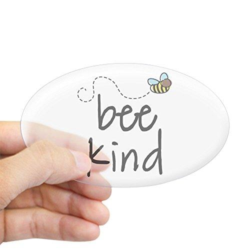 CafePress Be Kind Garden Bee Oval Sticker Oval Bumper Sticker, Euro Oval Car Decal (Best Kind Of Car)