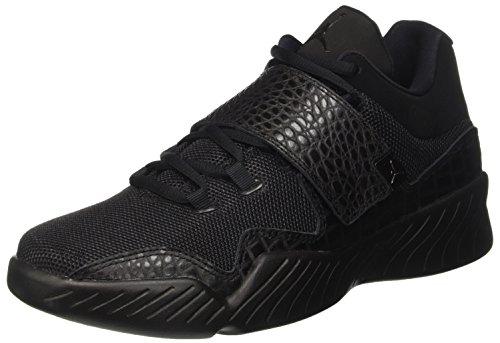 Jordan Textile - Jordan Nike Air J23 Mens Basketball Trainers 854557 Sneakers Shoes (US 11, Black Black Black 001)