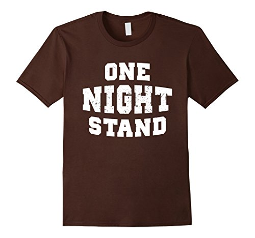 Mens One Night Stand Halloween Funny Costume Tshirt 2XL (One Night Stand Costume)