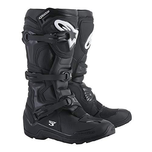 (New Alpinestars Tech 3 Enduro Motorcycle Riding Boots Size 12 Black)