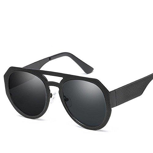 de de Tendencia del Sol Estilo Americanos Hombre Shing Regalos General Sol Metal C Gafas de y creativos Marco Mismo Gafas Europeos Dama Axiba OnxZ6Cx