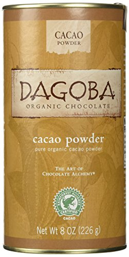 - Dagoba Organic Chocolate Organic Cacao Powder, 8 oz
