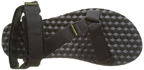 The North Face Men's Base Camp Switchback Ankle Strap Sandals Black (Tnf Black/Sulphur Spring Green) QNE86VFbyY