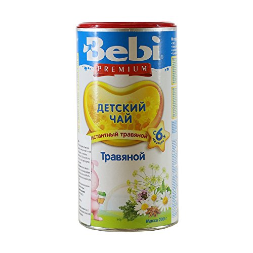 Bebi Herbal Tea for Babies 4 Months 7oz/200g