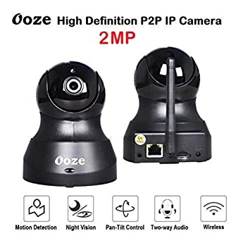 Ooze IP Camera 720p/1080P Wireless HD IP WiFi CCTV Indoor