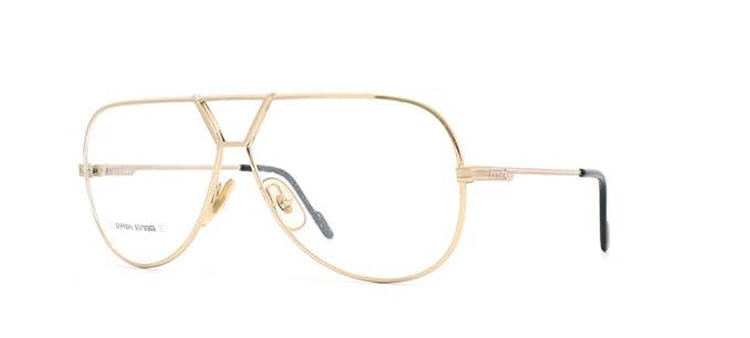 df5318265d Image Unavailable. Image not available for. Color  Ferrari 28 508 Gold  Authentic Men Vintage Eyeglasses Frame