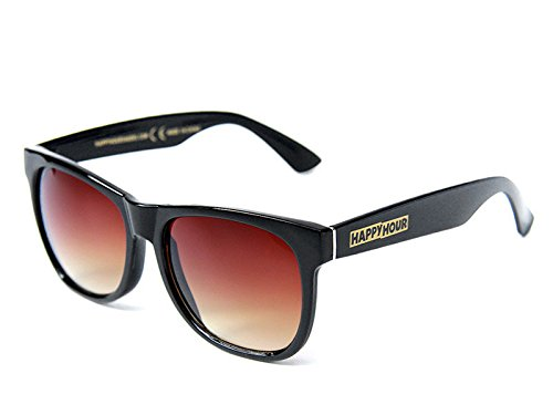Happy Hour REAL Swag Sunglasses [Gloss Black] by Happy Hour by Happy Hour