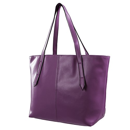 HDE Leather Shoulder Handbag Carryall