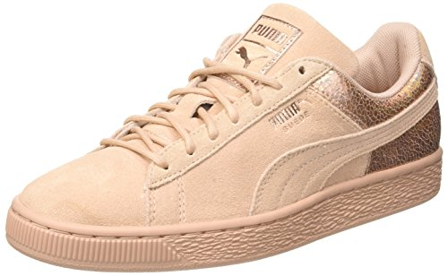 Puma Women's Suede Lunalux WN's Trainers, Smoked Pearl Beige (Cream Tan 02)