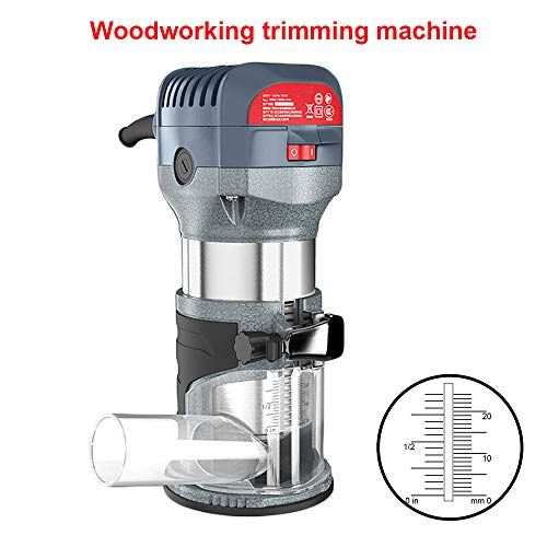Compact Router Kit 220V 50Hz Woodworking Electric Trimming set Wood Clean Cuts Power Tool 30000RPM 600W (Router Kit) by FASTTOBUY
