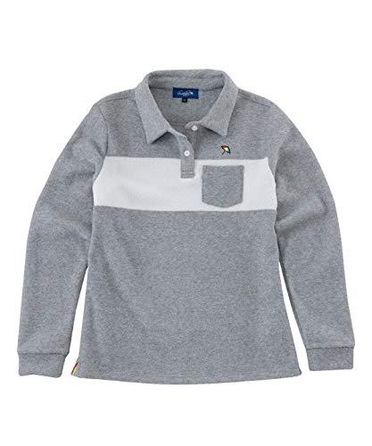 アーノルドパーマー ゴルフウェア ポロシャツ 長袖 レディース 長袖シャツ AP220402H01 モクGY M
