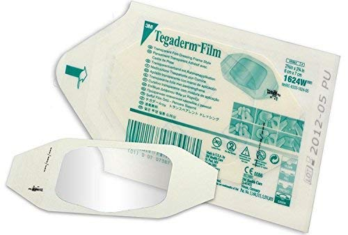 - 3M Transparent Film Dressing TegadermOctagon 2-3/8 X 2-3/4