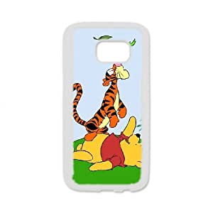 Anime Series Cartoon Design Winnie the Pooh Protective Case for Samsung Galaxy S7 Edge Case JS001