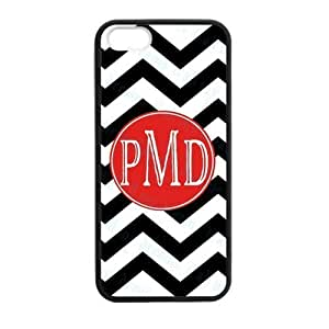 Black & White Classic Zigzag Chevron Noble Red Monogram Fashion Custom Luxury With Plastic For Case Samsung Galaxy S3 I9300 Cover and
