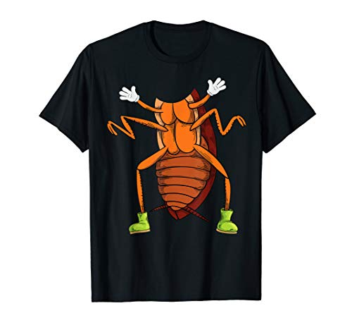 Cool Easy Cockroach Insect Halloween Costume Shirt Lazy Gift