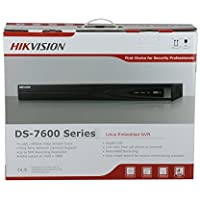 HIKVISION 16CH 16 Ports PoE DS-7616NI-E2/16P NVR Network Video Recorder with up to 5MP Resolution Recording Includes a 4TB Hard Drive