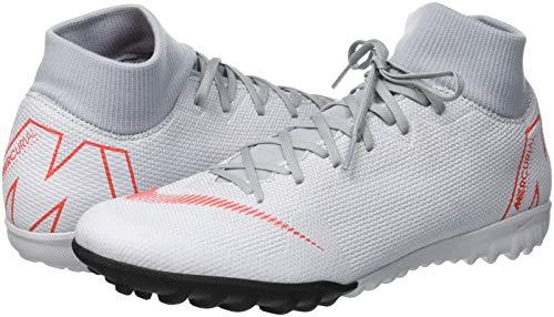 Da Crimson Basse wolf pure lt Scarpe – Superflyx 001 Academy Multicolore Platinum Ginnastica Grey Adulto 6 Nike Tf Unisex 0ZXpxfZB