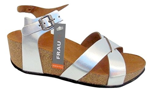 Sandals Sandalo Women's Frau Silver Fashion atSxwa0qv