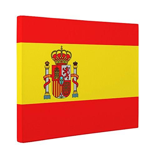 Spain Flag CANVAS Wall Art Home Décor by Paper Blast