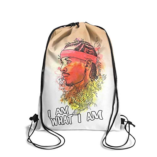 Cool String Drawstring Backpack Cinch Sack Fashion Firm Knapsack Convenient