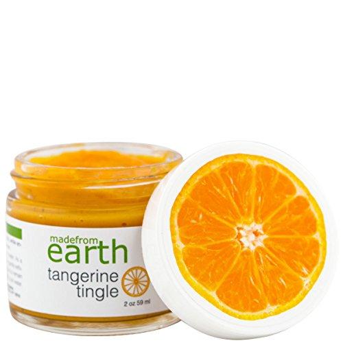 - Tangerine Tingle Face Scrub w/ Amino Acids, Vitamin C & Tangerine Extract, 2oz