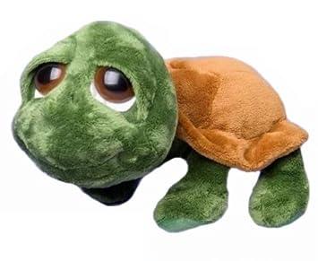 Russ Berrie Lil Peepers Shecky - Tortuga de peluche (34,3 cm