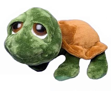 "RUSS SHECKY GREEN TURTLE LG 13.5"" PLUSH by Russ Berrie"