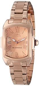 "Invicta Women's 15158 ""Lupah"" 18k Rose Gold Ion-Plated Watch"