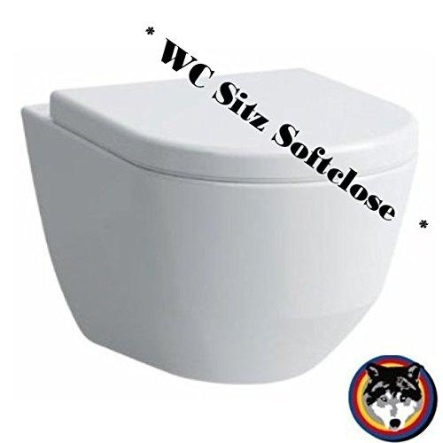 Laufen Pro rimlees Wand-WC sp/ülrandlos Rimfree WC Sitz Softclose